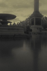 pictorialist inspired Trafalgar square