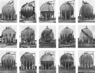 Bernd and Hilla Becher gas tanks 1983-92